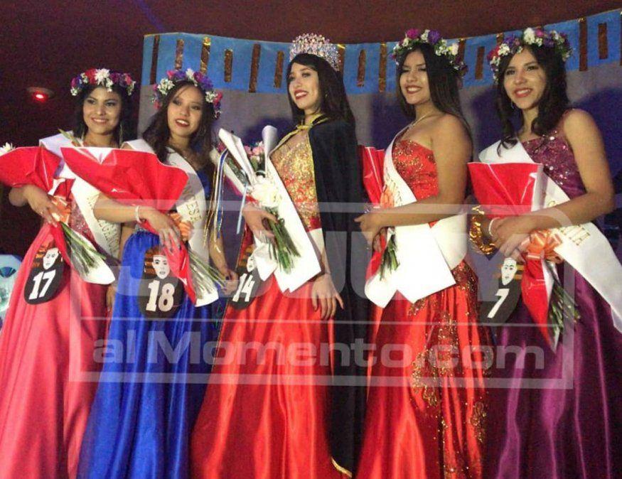 El Bachillerato N° 6 eligió a Jazmín Aramayo como su nueva reina