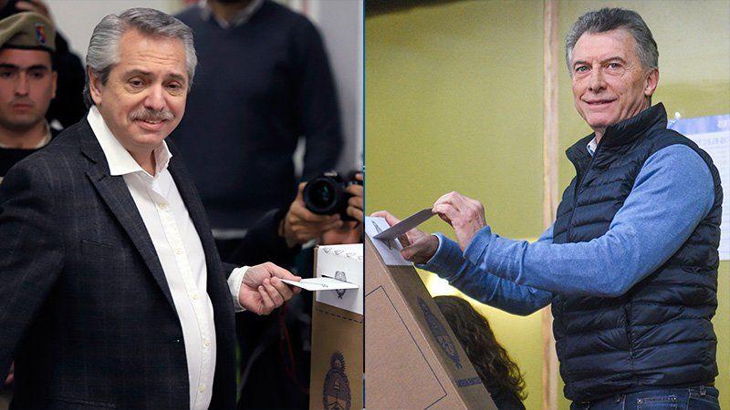 Datos oficiales: Fernández 47% -Macri 32%
