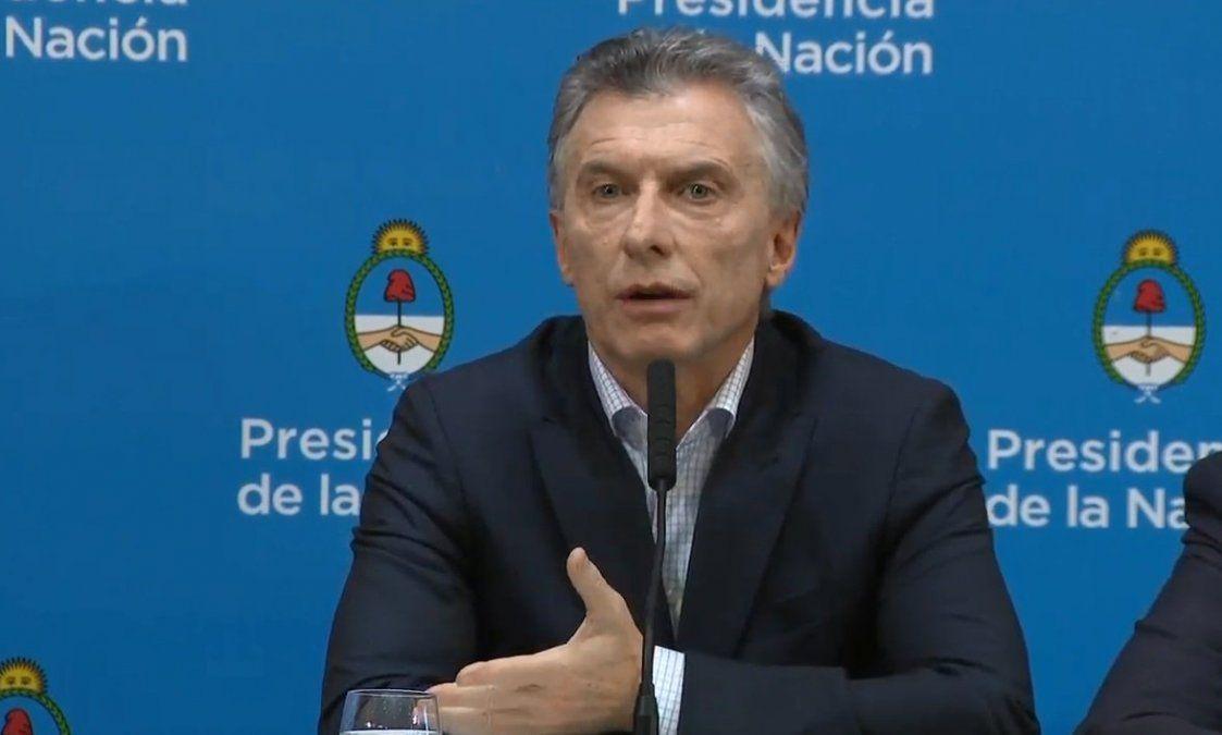 """Macri: """"el kirchnerismo no es creíble en el mundo"""""""