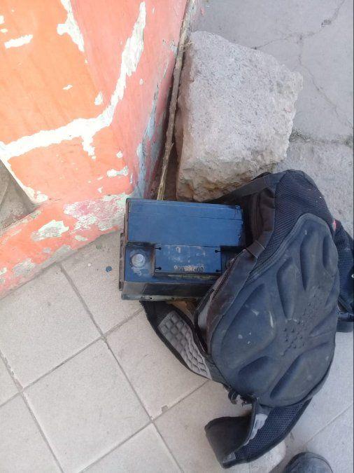 La salteña y sus cómplices atrapados tras robar una batería