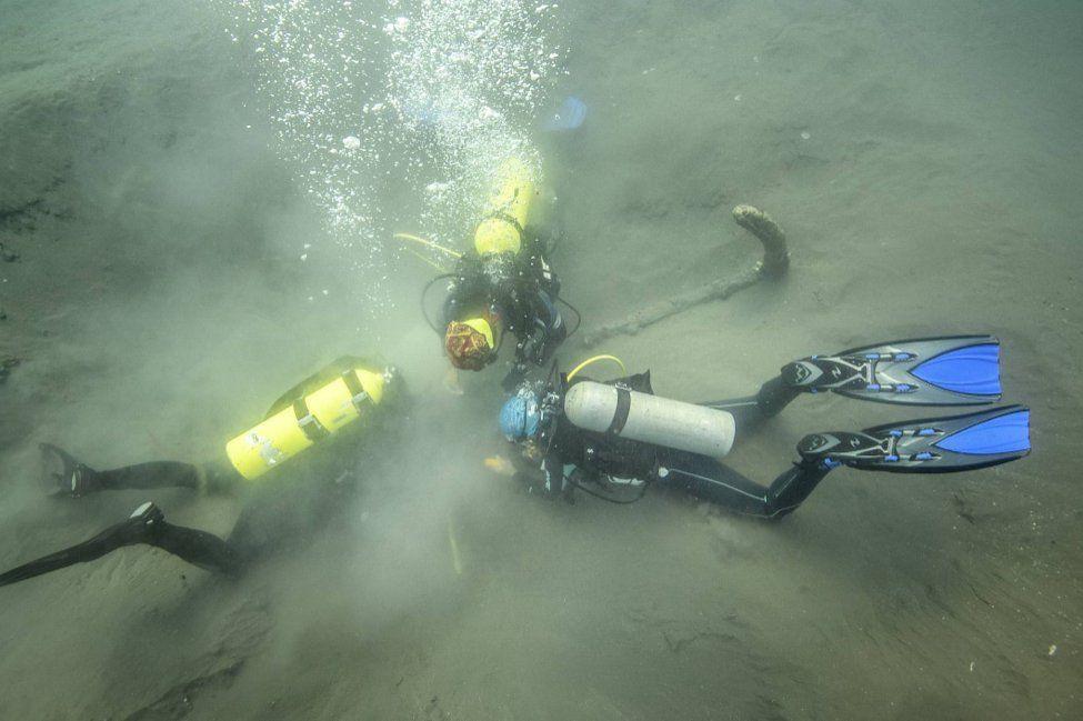 Arqueólogos se acercan a los barcos hundidos de Hernán Cortés