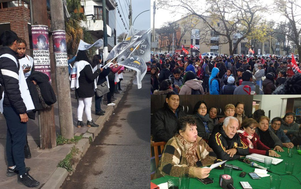Jornada de protestas en Jujuy