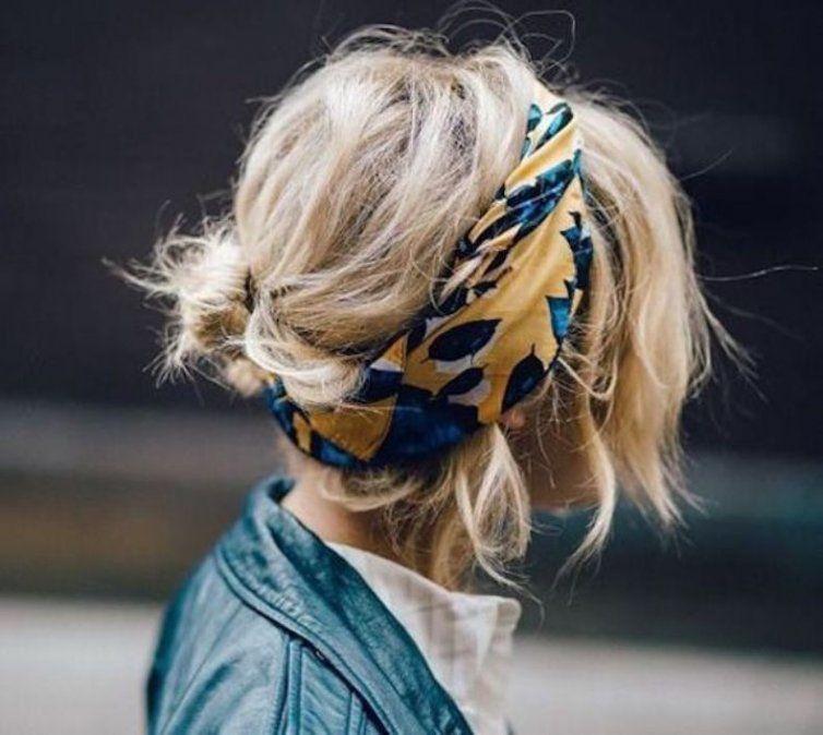 Inspiración para tu pelo: 48 imágenes para usar un pañuelo en tu cabeza