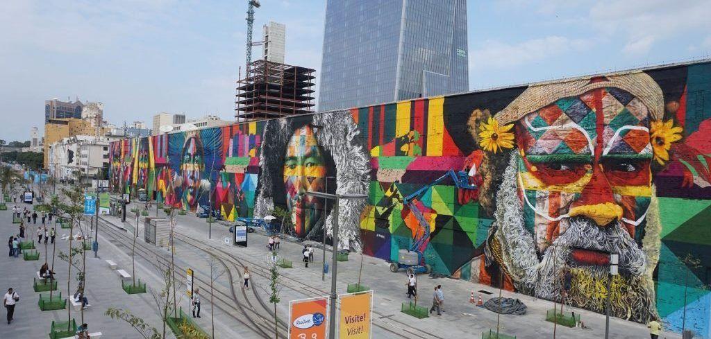 Artista jujeño fue invitado a pintar el mural más grande del mundo