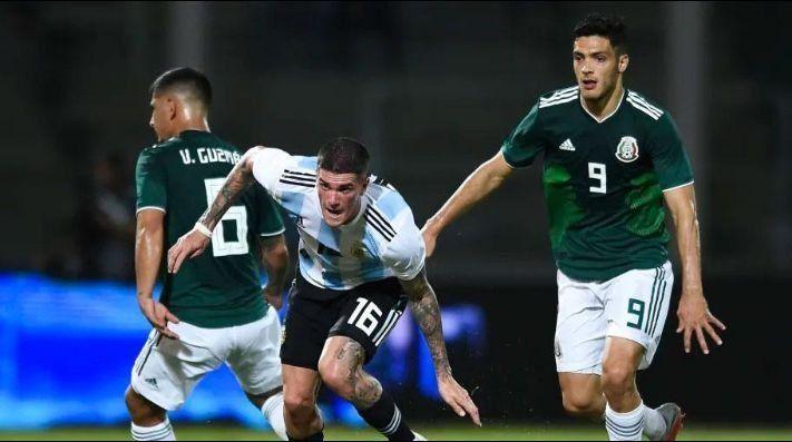 Argentina juega su segundo amistoso frente a México