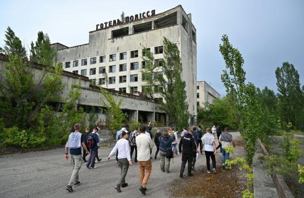 Tras el éxito de la serie, aumentaron los turistas en Chernobyl