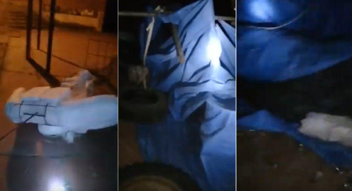 El canchón del Bachi 24 de Lozano fue afectado por el viento