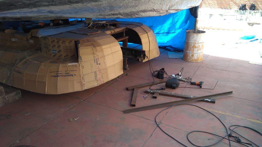 El Bachi 24 pide colaboración tras el viento que dañó su carruaje