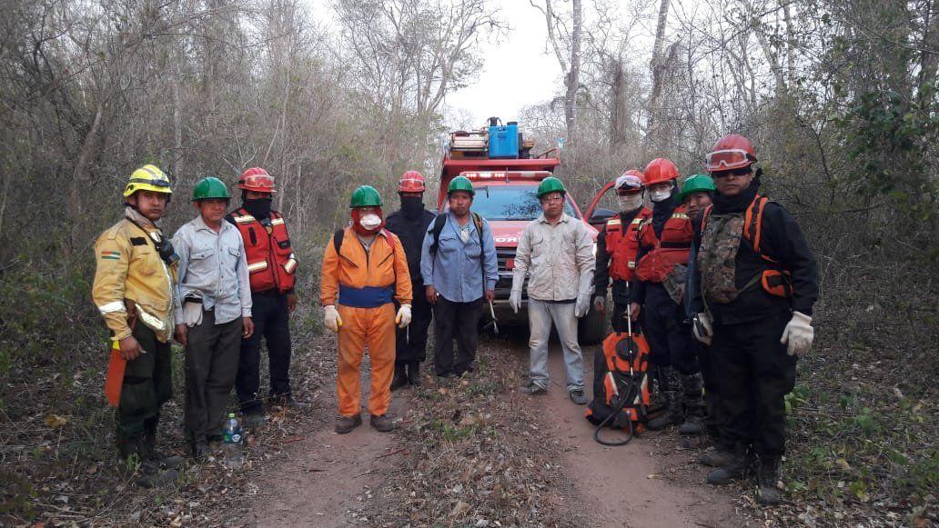 La ayuda de los bomberos jujeños llegó a comunidades aborígenes de Bolivia