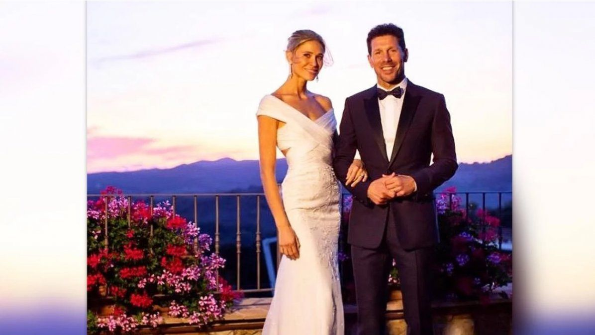 Se casó el Cholo Simeone