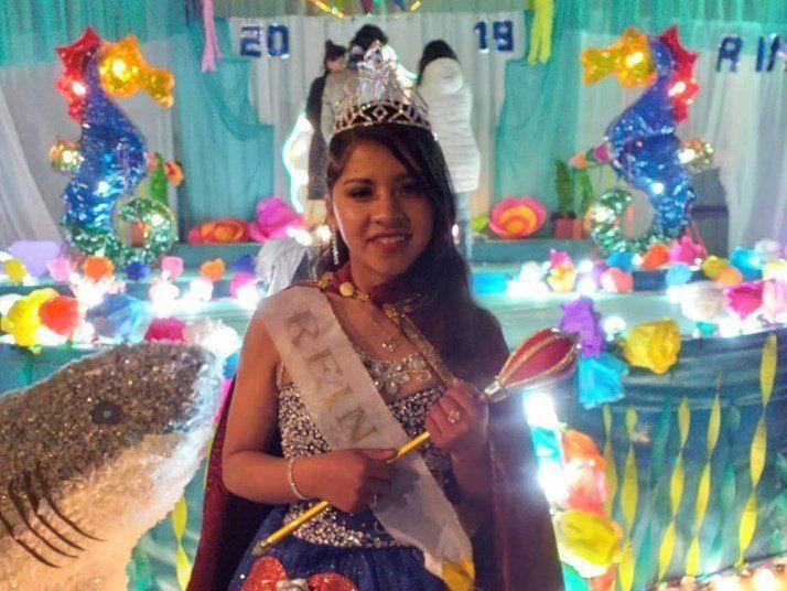 Georgina Emilce Mamani es la nueva reina departamental de Rinconada