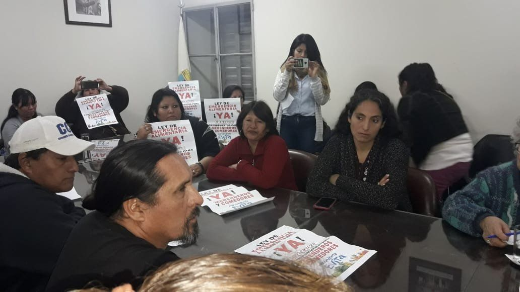 El oficialismo rechaza la emergencia alimentaria