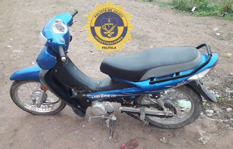 Recuperaron una moto robada en Palpalá