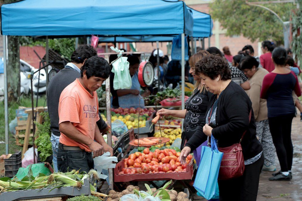 Expo Feria de productos agroecológicos en el paseo de los artesanos