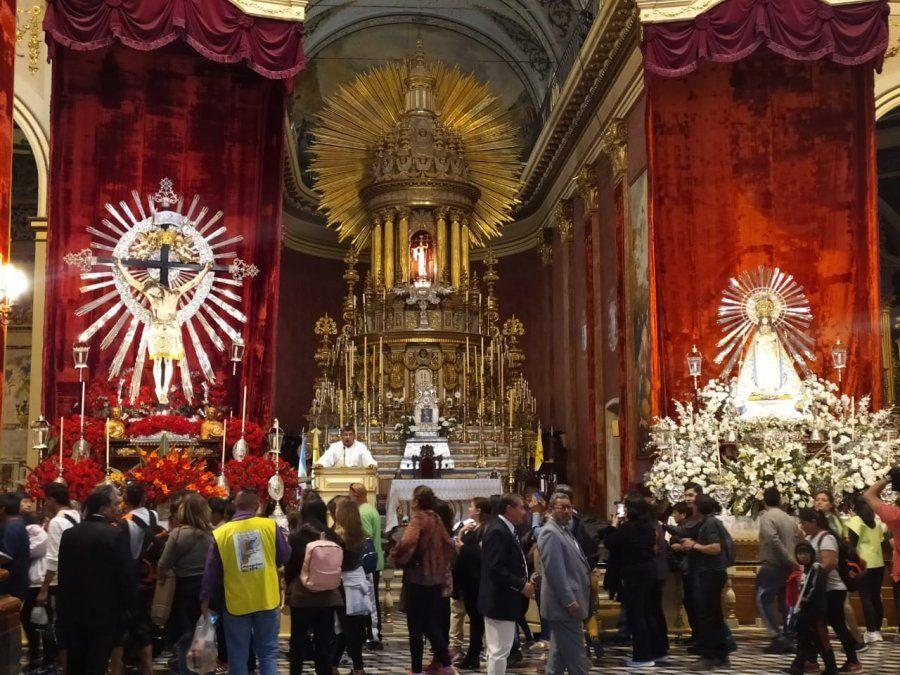 Renovación de la fe en la Fiesta del Señor y la Virgen del Milagro