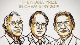 altText(Los inventores de las baterías de litio ganaron el Nobel de Química)}