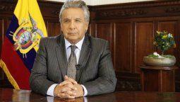 """altText(Lenín Moreno aseguró que la crisis ecuatoriana """"se va a solucionar muy pronto"""")}"""