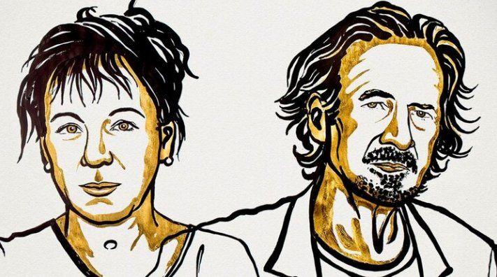 Olga Tokarczuk y Peter Handke se llevaron el Nobel de Literatura
