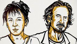 altText(Olga Tokarczuk y Peter Handke se llevaron el Nobel de Literatura)}