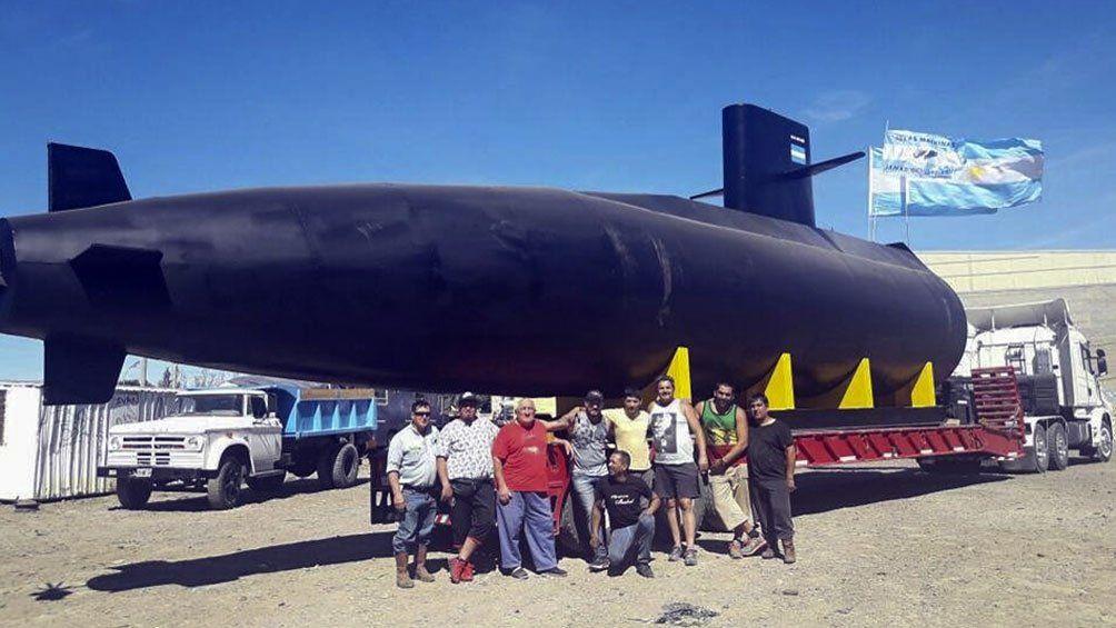 Colocarán una réplica del ARA San Juan en el museo de la Base Naval