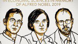 altText(Nobel de Economía otorgado a los pioneros en trabajos para aliviar la pobreza)}