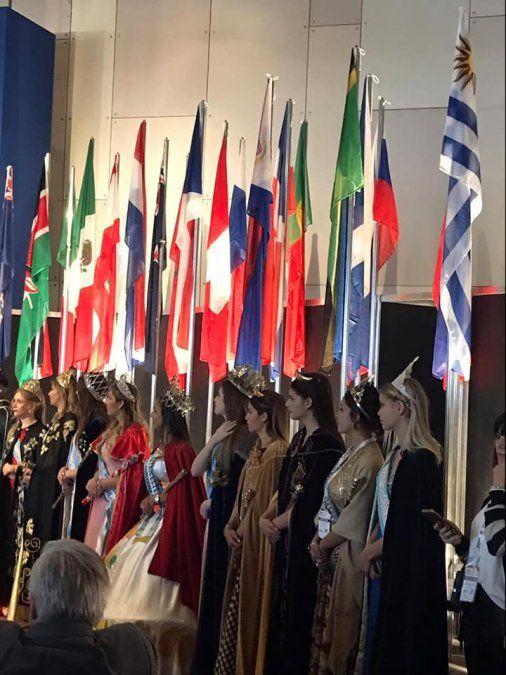 La Reina Nacional de los Estudiantes promociona la FNE 2020