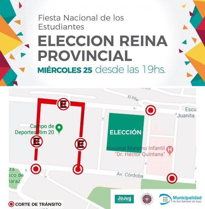 Así será el operativo de tránsito por la Elección provincial