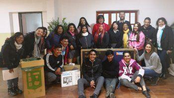 Estudiantes fueron premiados por sus carrozas sustentables