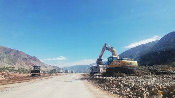 Nación avanza con las tareas de mantenimiento de la ruta 9