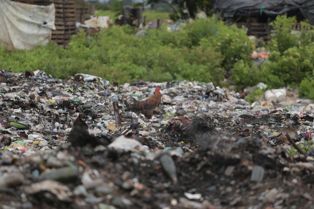 El gobierno reacciona con ayuda para las familias que viven de un basural