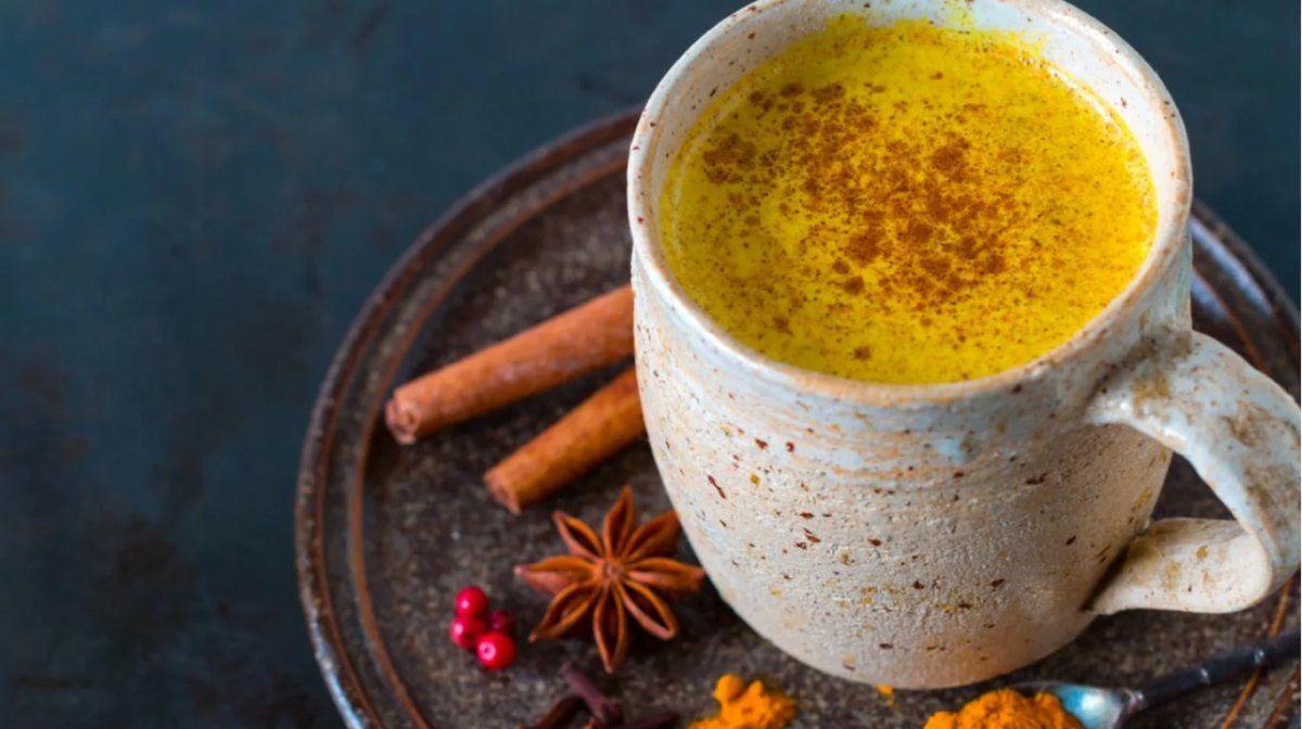 Leche dorada o Golden Milk: la nueva moda saludable a base de cúrcuma