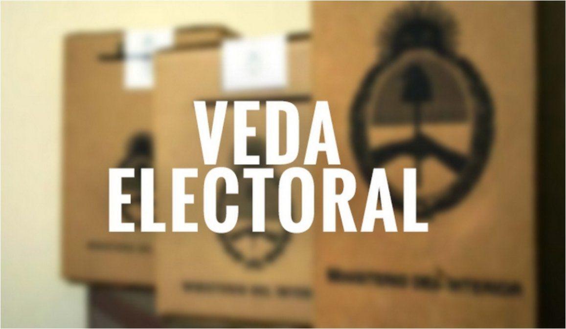 Que cosas NO podes hacer durante la veda electoral.