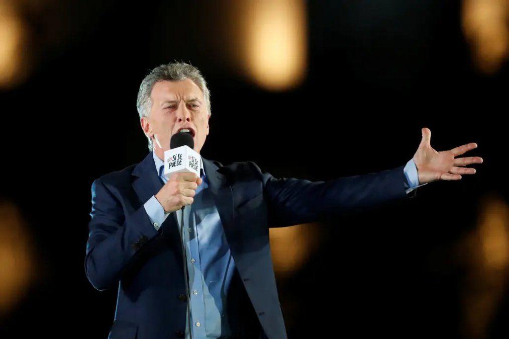 Ante una multitud, Macri cerró su campaña en Córdoba