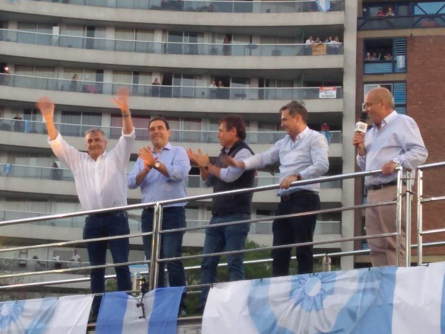 Morales acompañó a Macri en Córdoba