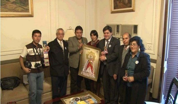Promocionan en Jujuy la Fiesta Patronal de la Virgen de Urkupiña