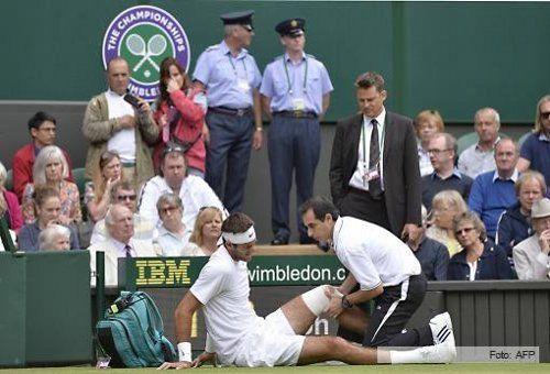 Del Potro ganó y esta en semifinales de Wimbledon
