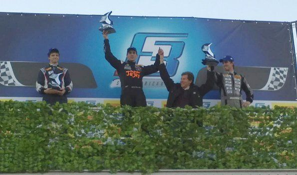 Moisés ganó la Fórmula 3 Sudamericana