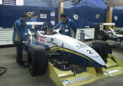 Moisés en la Fórmula 3 Sudamericana