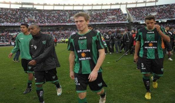 River le ganó a San Martín de San Juan y lo mandó a la Primera B Nacional