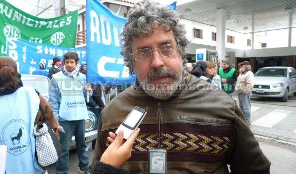 Fernando Acosta aclaró no hubo daños ni estrago en la marcha de ATE
