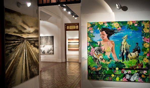 Exponen en Catamarca pinturas del Bicentenario del Éxodo Jujeño
