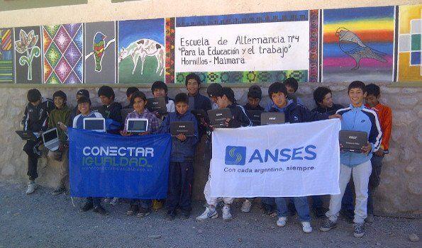 Conectar igualdad entregó más de 1600 netbooks en la provincia