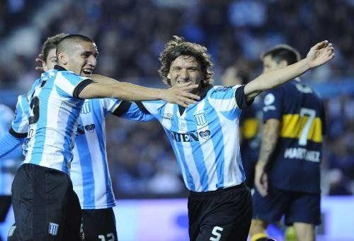Racing le ganó a Boca en Avellaneda y se clasificó a la Copa Sudamericana