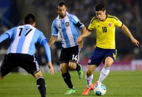 Argentina y Colombia empataron sin goles