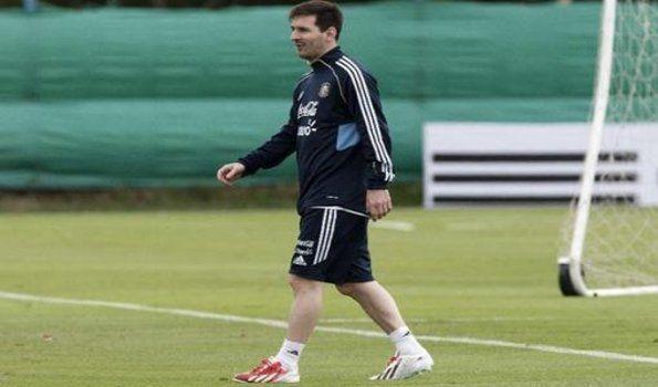 Messi irá al banco ante Colombia