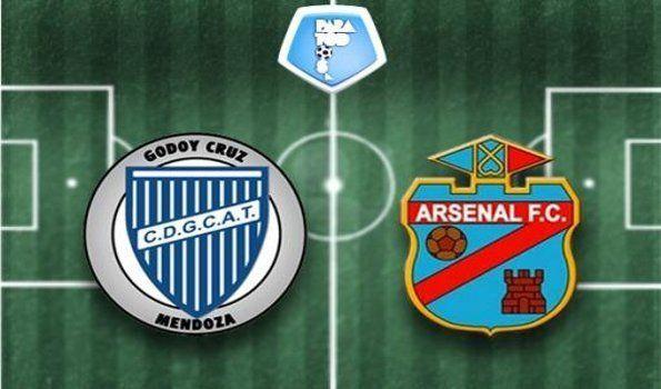 Arsenal visita a Godoy Cruz