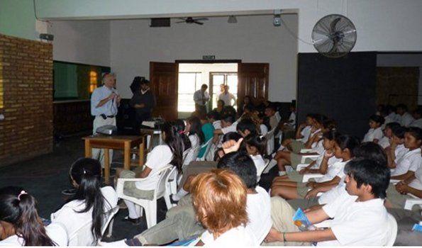 Continúa la campaña de educación vial en las escuelas de la provincia