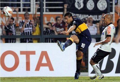 Copa Libertadores: Boca empató con Corinthians y pasó a los cuartos de final