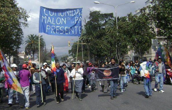 Emotiva recordación del Malón de la Paz