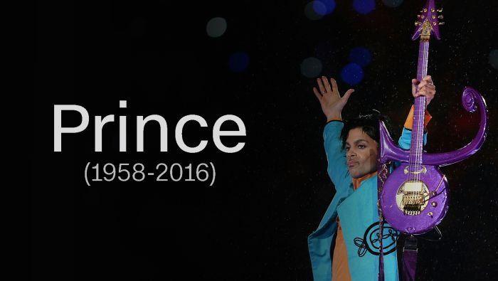 Murió Prince a los 57 años